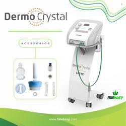 Dermo Crystal -  Aparelho de Peeling de Cristal e Vacuoterapia